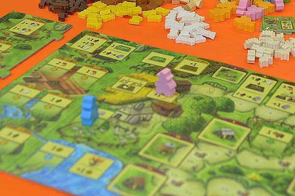 Foto von der Spiel '16: Agricola - Familienspiel