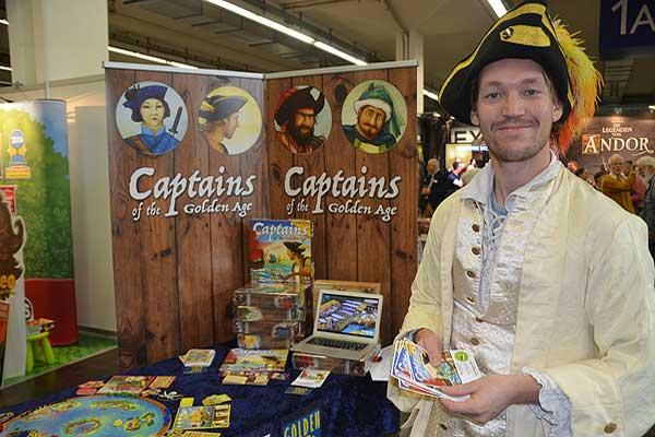 Foto von der Spiel '16: Captains Of The Golden Age