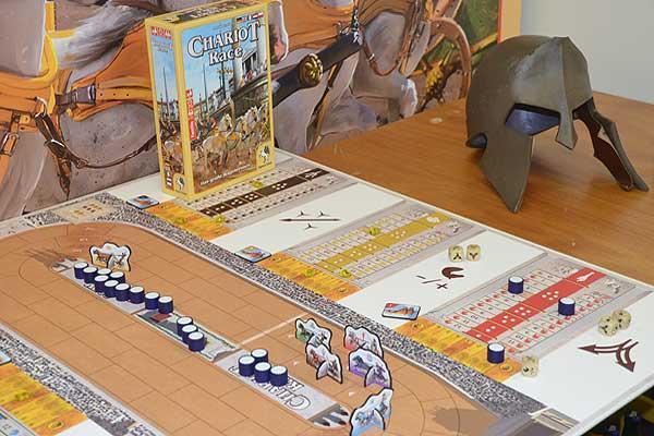 Foto von der Spiel '16: Chariot Race
