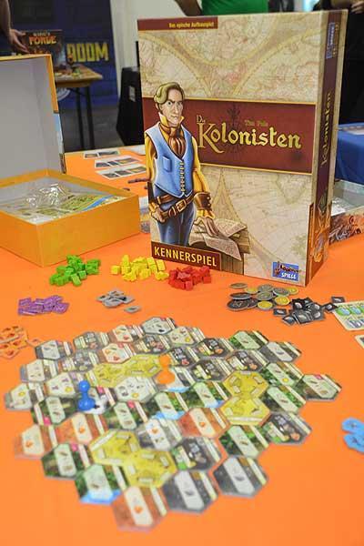 Foto von der Spiel '16: Die Kolonisten - Schachtel