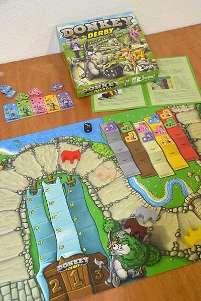 Foto von der Spiel '16: Donkey Derby