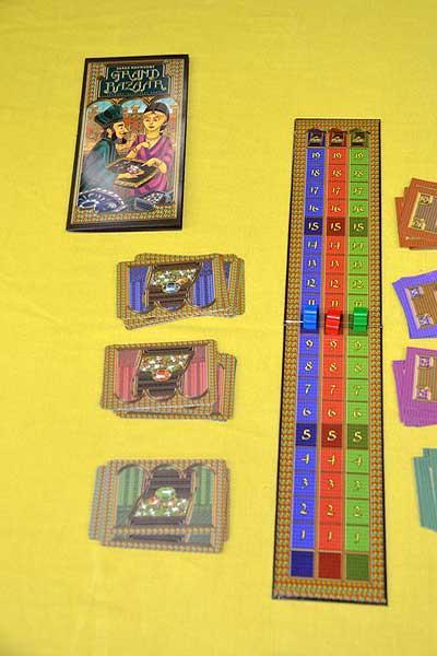 Foto von der Spiel '16: Grand Bazar Spielaufbau