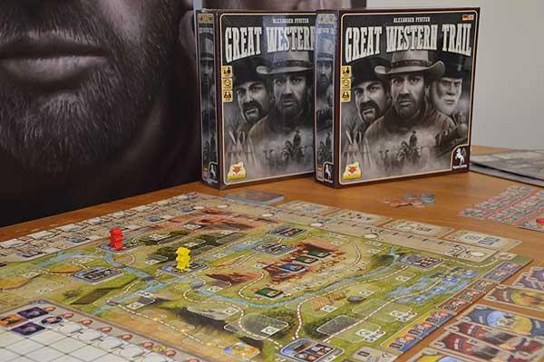 Foto von der Spiel '16: Great Western Trail