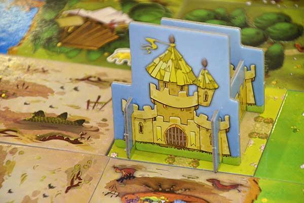 Foto von der Spiel '16: Kingdomino - Detail