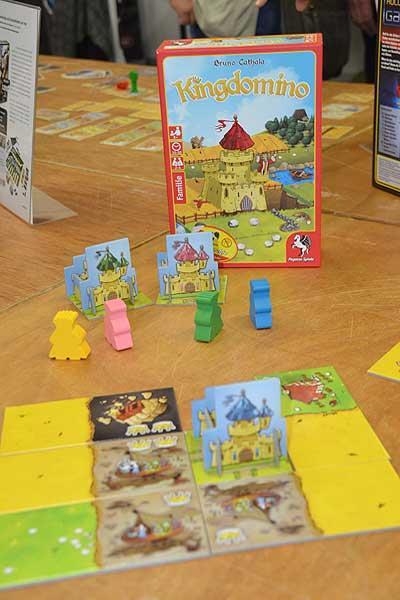 Foto von der Spiel '16: Kingdomino