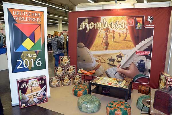 Mombasa gewinnt den Deutschen Spielepreis