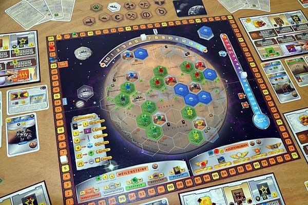Foto von der Spiel '16: Terraforming Mars