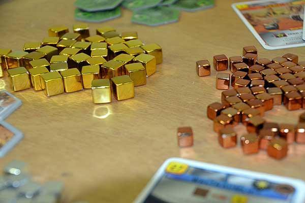Foto von der Spiel '16: Terraforming Mars - Material