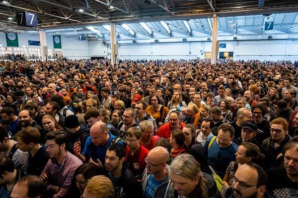Besucherrekord auf der Spiel 19 - Foto von Merz Verlag