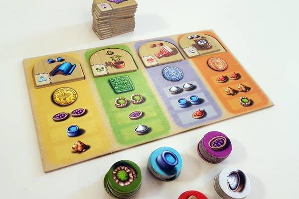 Foto von der Spiel '19: Alhambra - Revised Version - Material