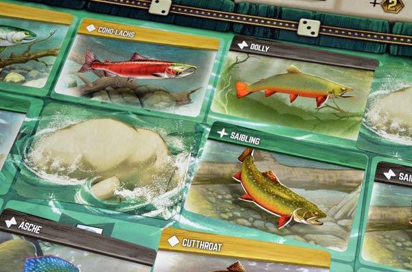 Foto von der Spiel '19: Freshwater Fly - die Fische