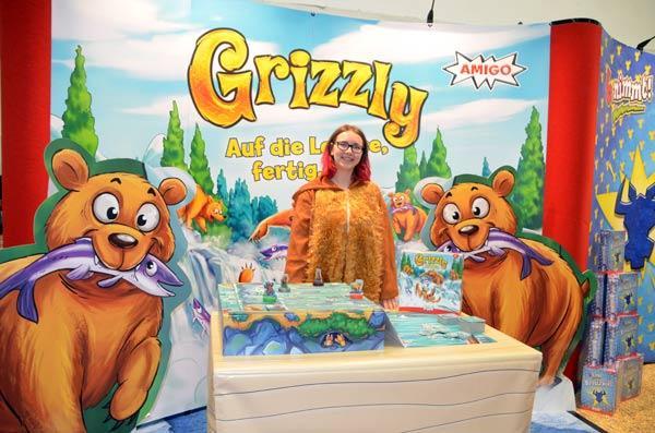 Foto von der Spiel '19: Präsentation von Grizzly