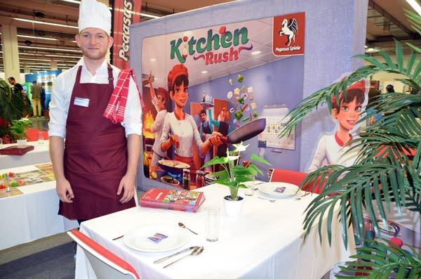 Foto von der Spiel '19: Präsentation von Kitchen Rush