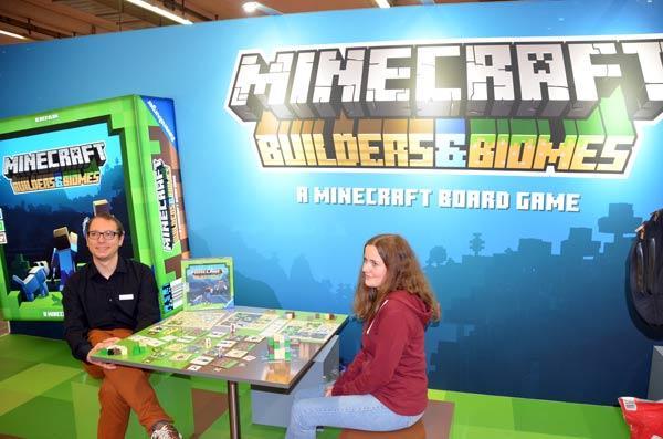 Foto von der Spiel '19: Minecraft Präsentation