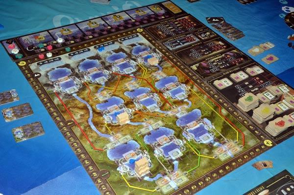 Foto von der Spiel '19: Mystery House - Spielbrett