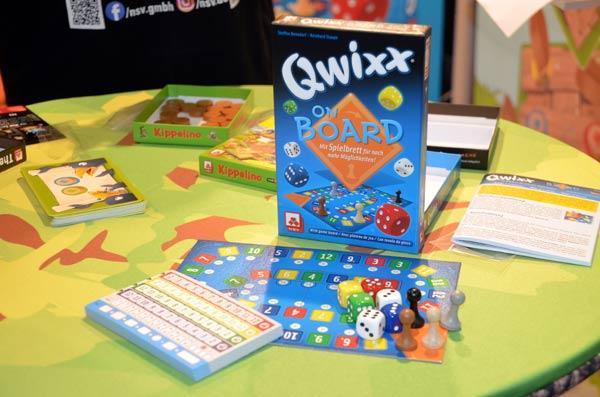 Foto von der Spiel '19: Qwixx On Board