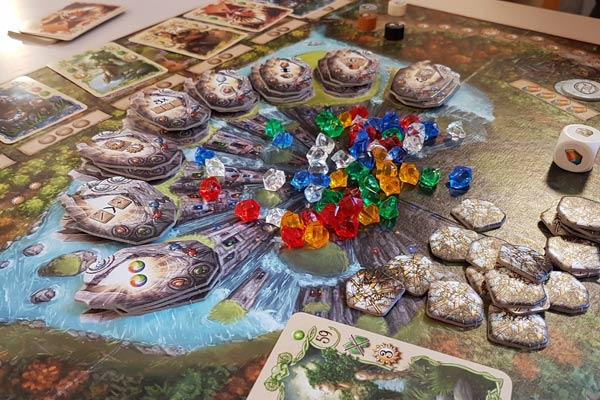 Foto von der Spiel '19: Rune Stones - Spielbrett