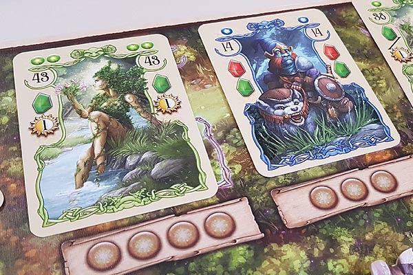 Foto von der Spiel '19: Rune Stones - Karten