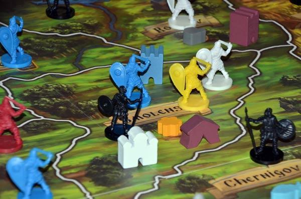 Foto von der Spiel '19: Rurik - Spielmaterial