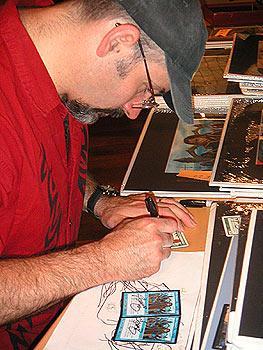 Magic-Zeichner Ed Beard