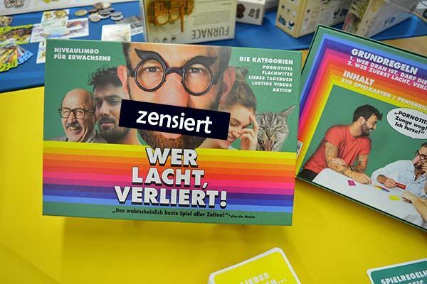 Spielemesse 2021: Wer lacht verliert - Foto von Riemi