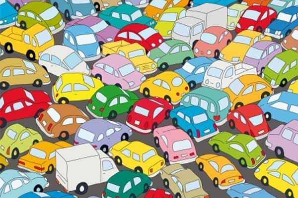 Verkehrsstau - Foto von Clipdealer