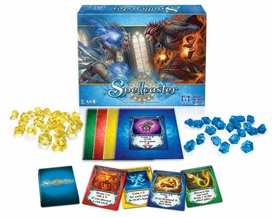 Brettspiel Spellcaster - Foto von RnR Games