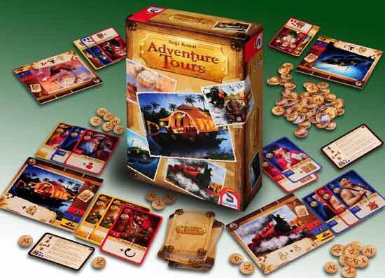 Gesellschaftsspiel Adeventure Tours - Foto von Schmidt Spiele