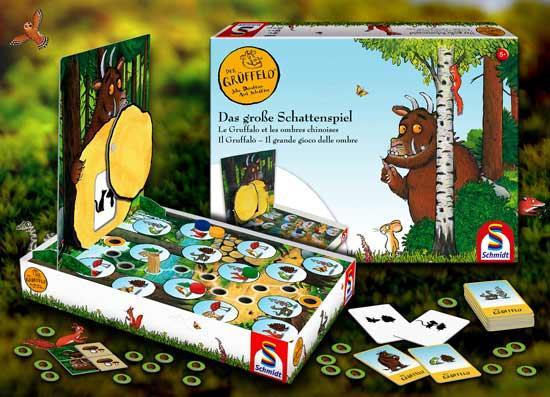 Kinderspiel Der Grüffelo - das große Schattenspiel - Foto von Schmidt Spiele