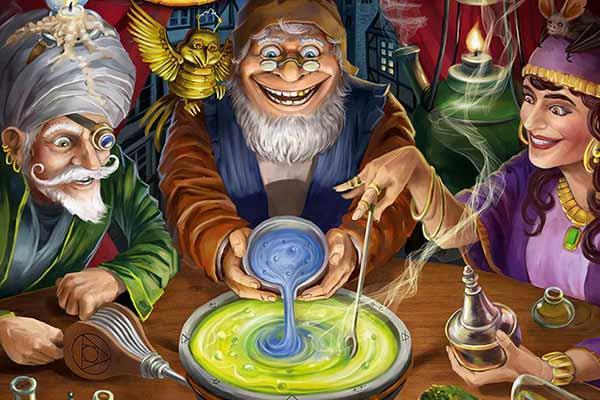 Die Quacksalber von Quedlinburg: Die Alchemisten - Ausschnitt - Foto von Schmidt Spiele