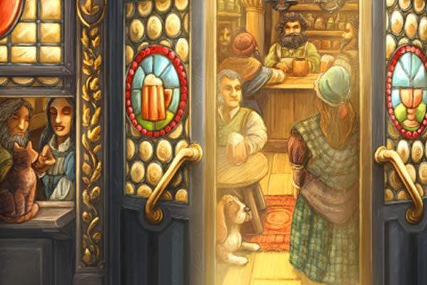 Die Tavernen im tiefen Thal - Ausschnitt - Foto von Schmidt Spiele