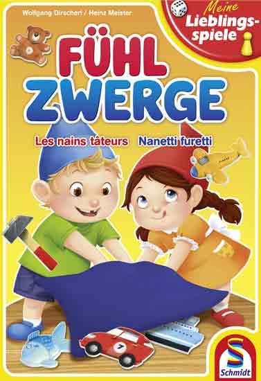Kinderspiel Fühlzwerge - Foto von Schmidt Spiele