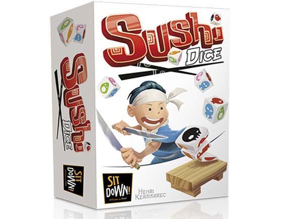 Gesellschaftsspiel Sushi Dice -  Foto von Sit Down