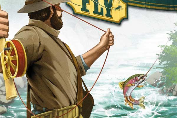 Freshwater Fly - Ausschnitt - Foto von Spielefaible