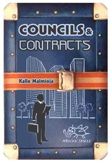 Gesellschaftsspiel Councils & Contracts - Foto Mücke Spiele
