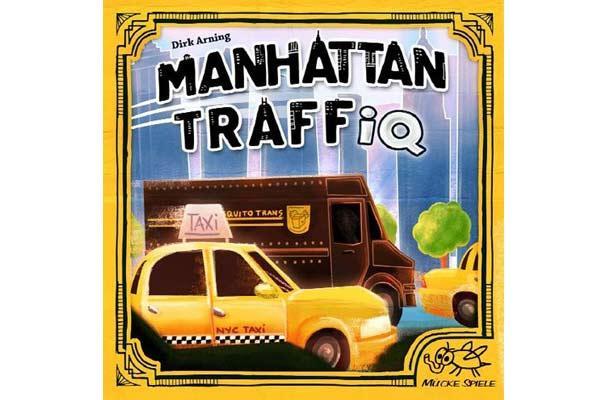 Legespiel Manhattan TraffIQ - Foto von Mücke Spiele