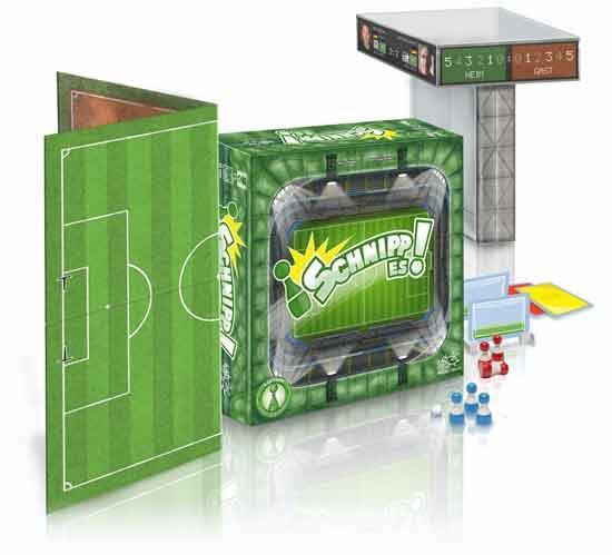 Fussball-Brettspiel Schnipp es - Foto von Mücke Spiele