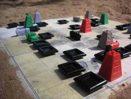Schwarzes Gold - Spielmaterial - Foto von Mücke Spiele