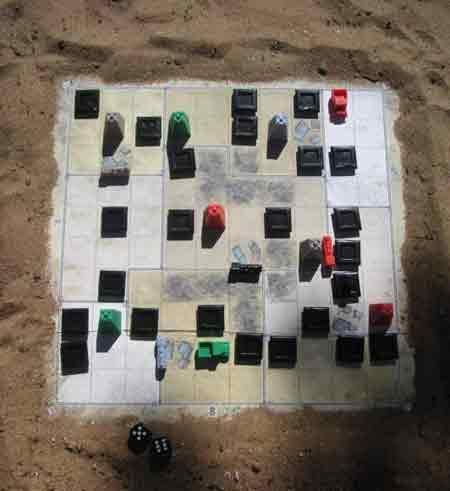 Schwarzes Gold - Spielbrett von oben - Foto von Mücke Spiele