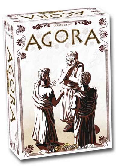 Brettspiel Agora - Foto von Spielworxx