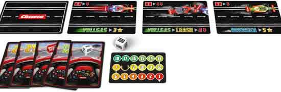 Kartenspiel Gib Gas - Carrera Tabletop Games - Foto Stadlbauer