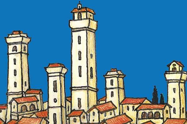 Volterra - Ausschnitt - Foto von Steffen Spiele