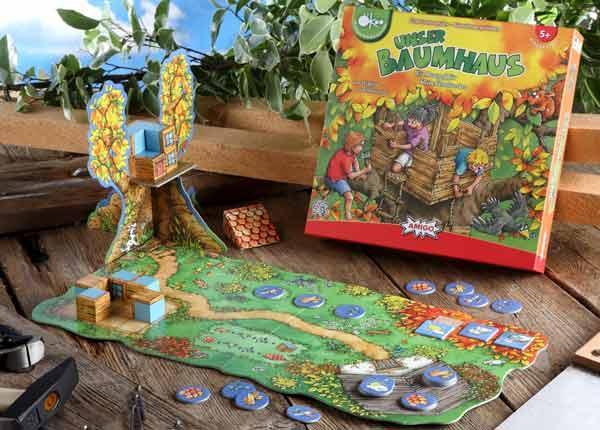 Unser Baumhaus - Kinderspiel - Foto von Amigo Spiele