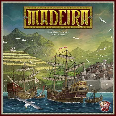 Brettspiel Madeira von What's Your Game