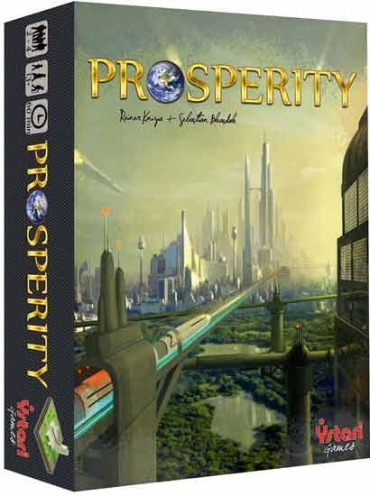 Brettspiel Prosperity - Foto von Ystari