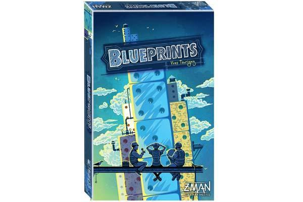 Würfel-Bauspiel Blueprints - Foto von Z-Man Games