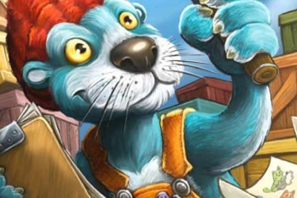 Flotter Otter - Ausschnitt - Foto von Zoch Verlag
