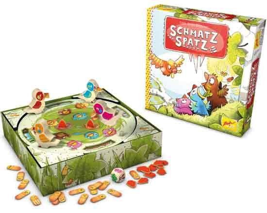 Kinderspiel Schmatzspatz - Foto von Zoch Verlag