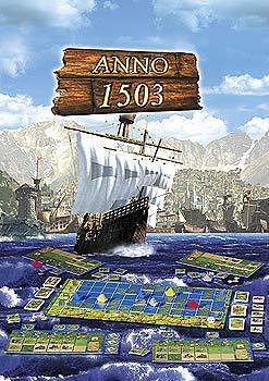 """Der PC Mega-Erfolg Anno 1503 erscheint nun als Brettspiel. Der """"Testlauf"""" könnte bei Erfolg der Spielwelt eine ganze Flut von neuen Brettspielen bescheren von Kosmos"""