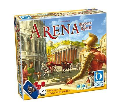 Arena - Revolte in Rom II von Queen Games